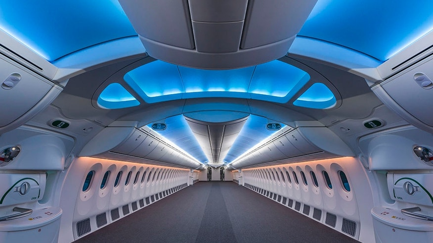Stripped: this empty plane is ready for an upgrade.