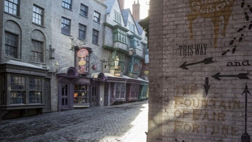 Walking down Diagon Alley is the closest thing there is to being transported into a fictional world out of the movies.