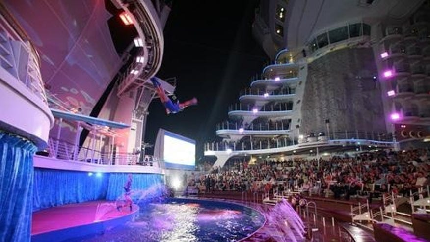 Royal Caribbean's AquaTheater