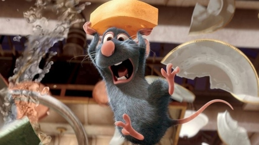 "The attraction, inspired by the Disney movie ""Ratatouille,"" is a dark ride that takes the ""comical, rat's eye view"" of Remy's world."