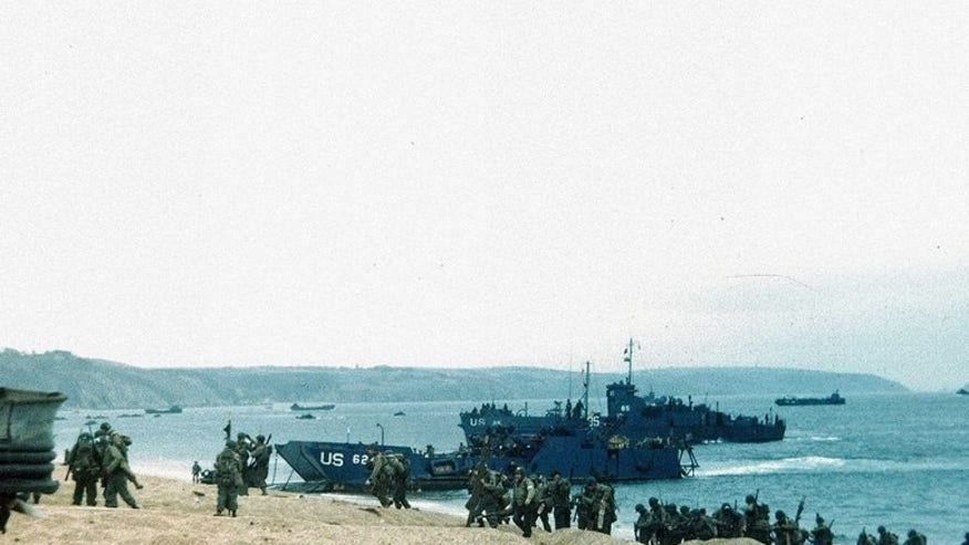 D-Day Beaches at Normandy