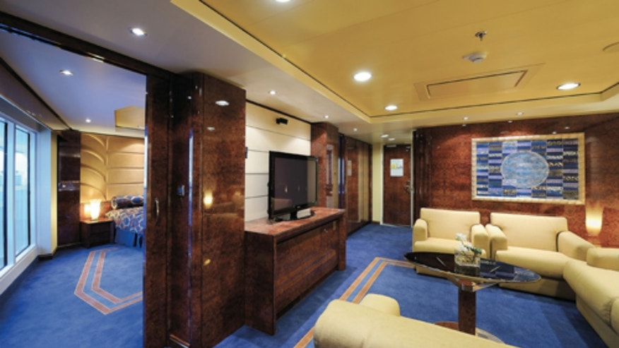 MSC's Yacht Club has a spacious family suite, a large pool deck and personalized service.