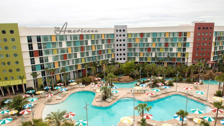Cabana Bay Beach Resort - opened in May