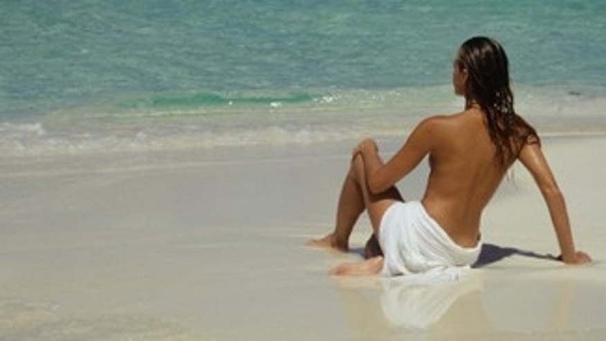 Europeans are most likely to sunbathe topless.