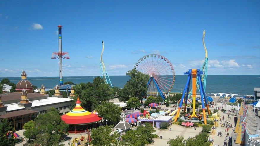 Cedar Point Amusement Park, Sandusky, Ohio