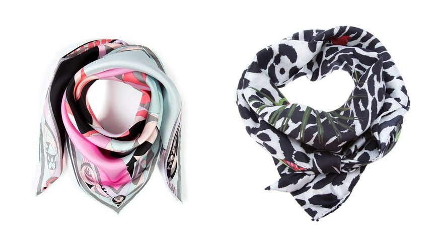 The versatile silk scarf