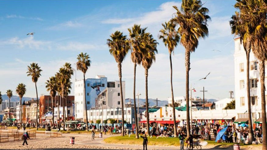 Venice Beach and Santa Monica, California