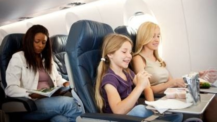 Parents can be the worst at 35,000 feet.