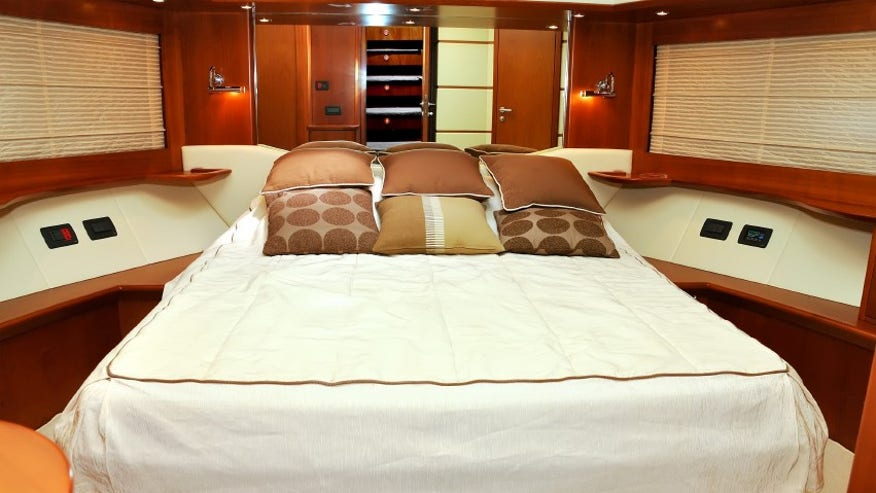 The staterooms are geared toward families.