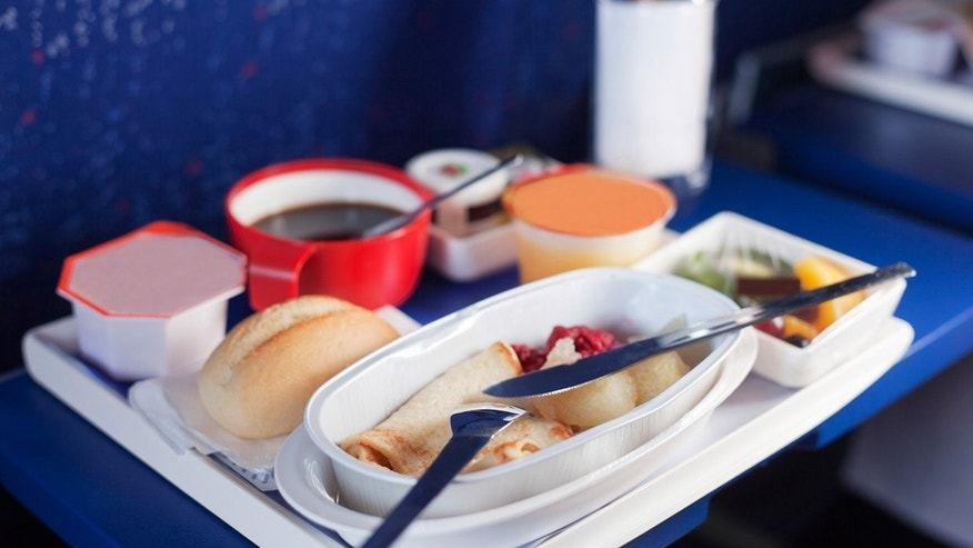 Airline food usually doesn't live up to first class expectations.