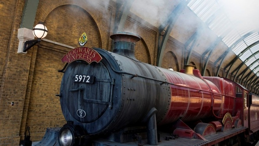 All aboard the Hogwarts Express.