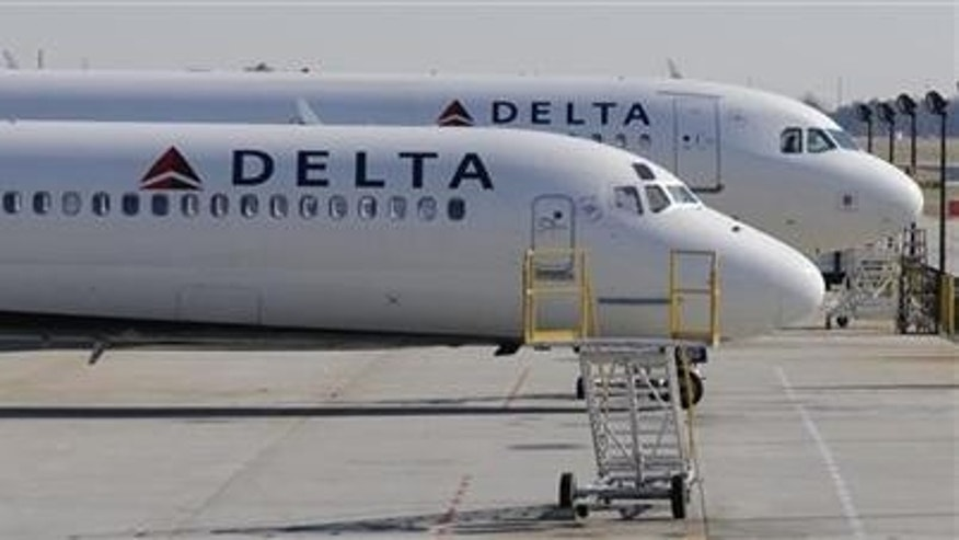 Delta Airlines flies into first place as the top U.S. carrier.