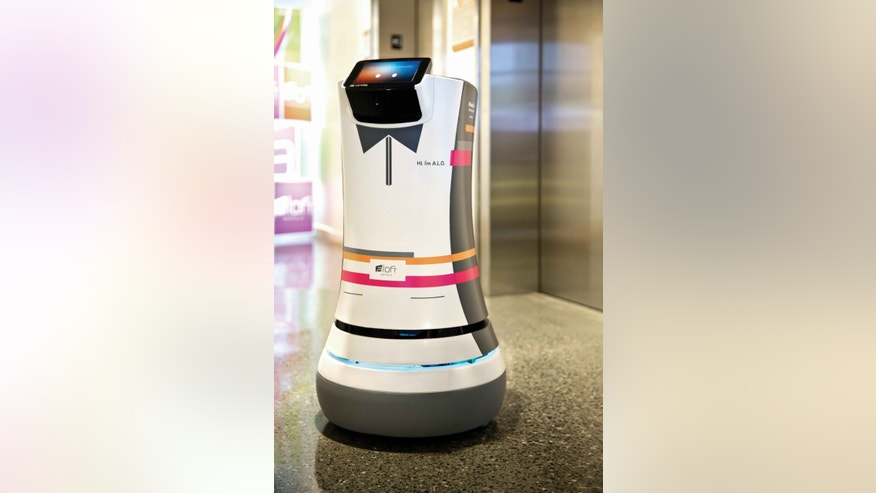 Meet your robotic butler.