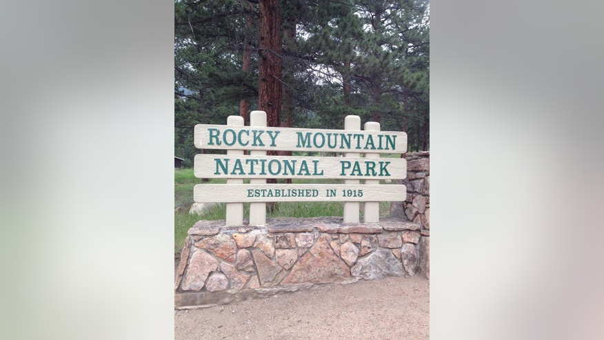 July 20, 2014: Eastern entrance to Rocky Mountain National Park in Colorado. The area offers good day hikes in the eastern side of the park, using the town of Estes Park as a gateway.