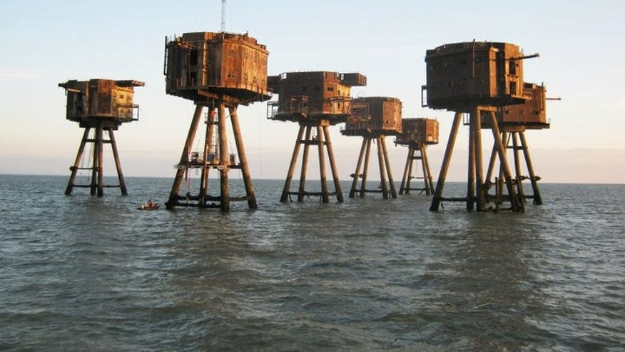 Maunsell Sea Forts, North Sea, United Kingdom