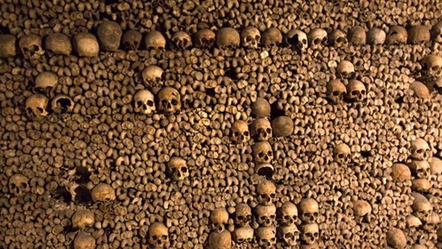 The Catacombs, Paris, France