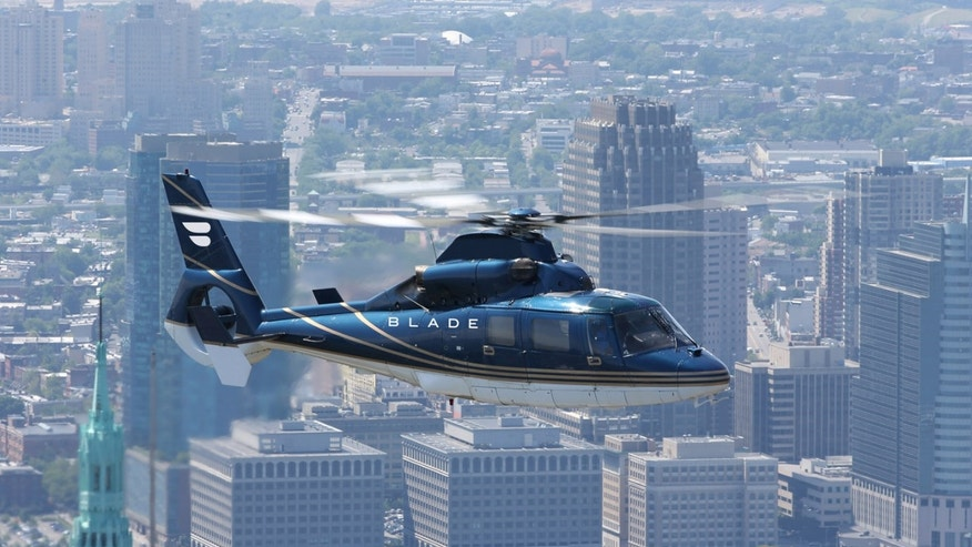 Charter a chopper in record time.