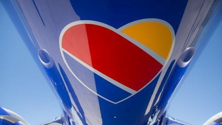 The new logo is a simpler heart colored by blue, red and orange stripes. It appears at the end of the airline's name,