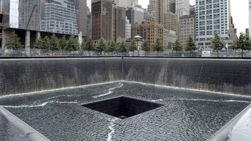Officials say more than 15 million visitors have seen the World Trade Center memorial since it opened on the 10th anniversary in 2011.