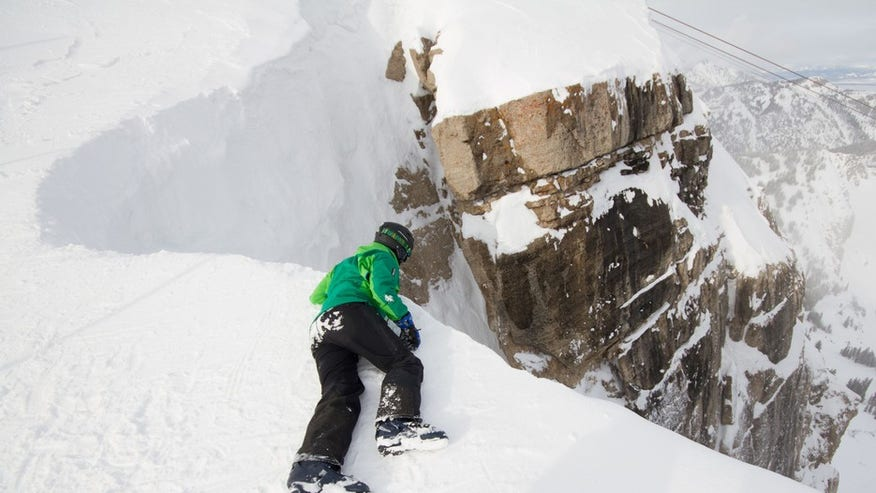 Corbet's Couloir - Jackson Hole, Wyoming