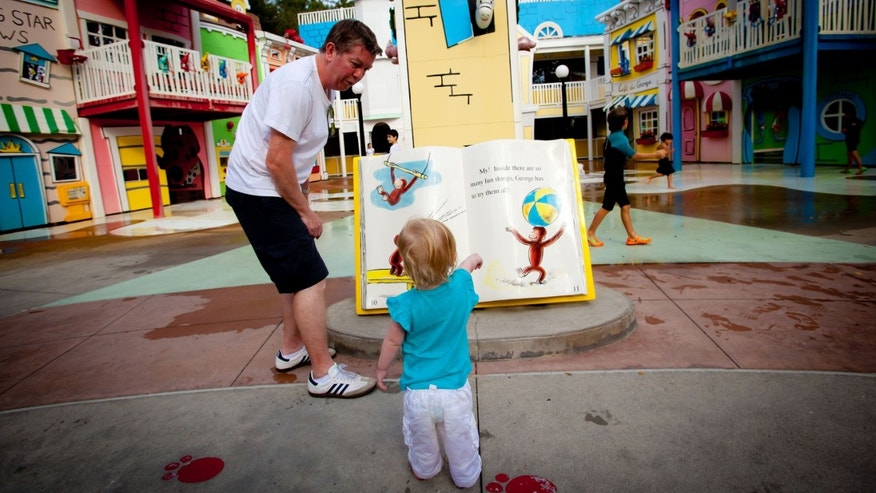 Curious George Goes to Town at the Kidzone area at Universal Studios Florida.