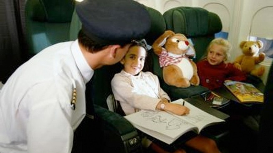 Would you let your seven-year-old travel alone on a domestic or international flight?