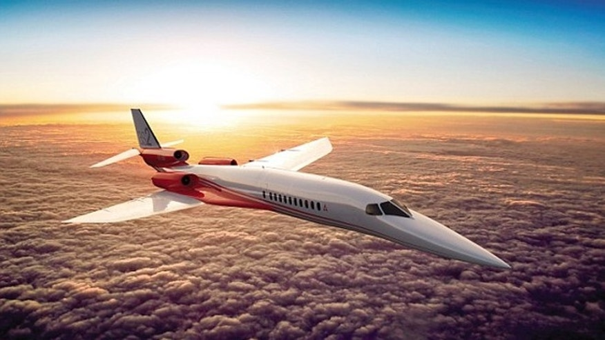 The Aerion AS2 will be able to reach speeds of 1,217 mph.