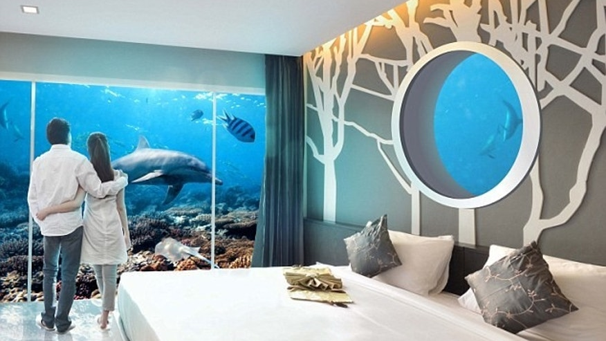 Underwater hotel rooms will become mainstream.