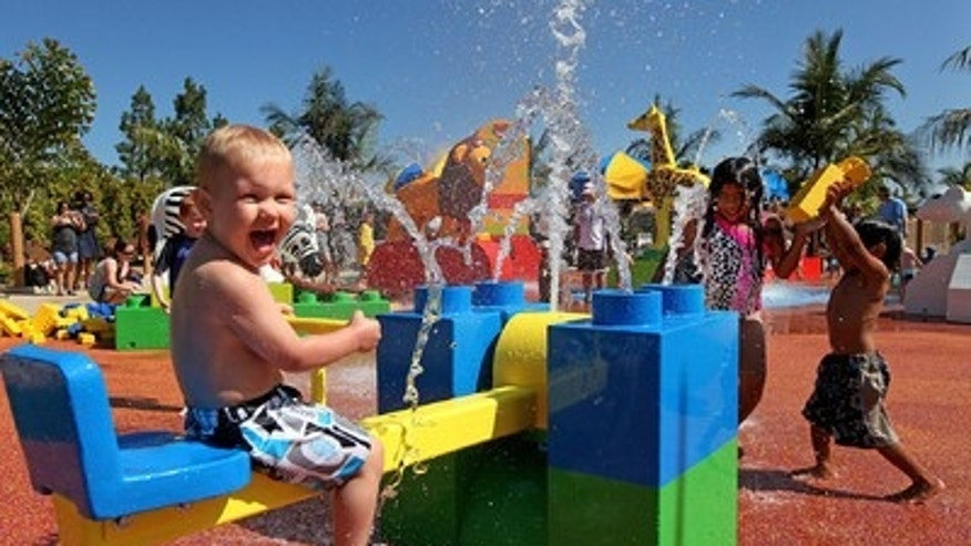The waterpark at LEGOLAND.