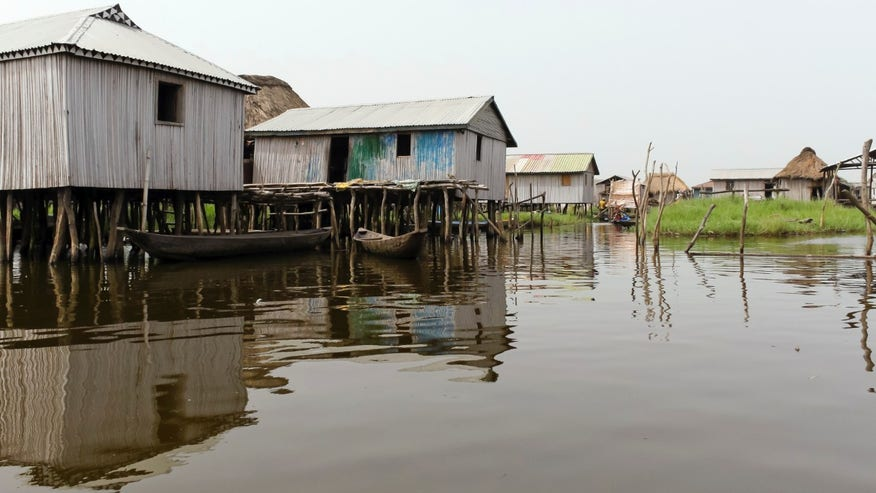 There's an African city that's built entirely on stilts