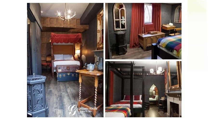 Just like Hogwarts: London hotel updates two kid-friendly rooms.