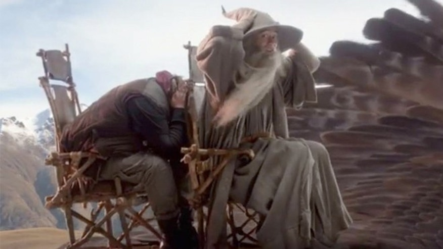"""Air New Zealand released a second """"Hobbit""""-themed in-flight safety video."""