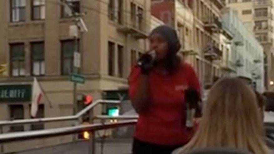 A video showing a tour guide in San Francisco going on a racist rant while driving through Chinatown has going viral.