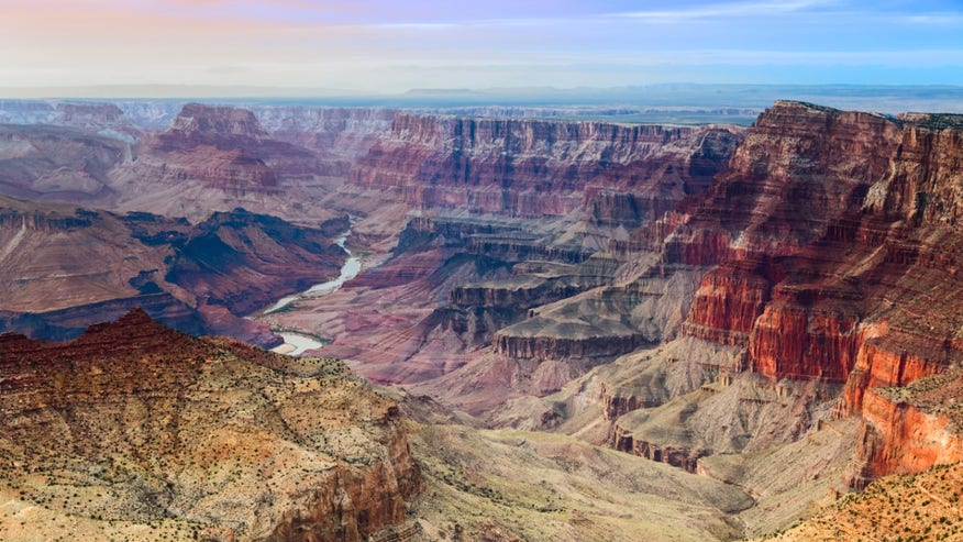 The Grand Canyon: Arizona