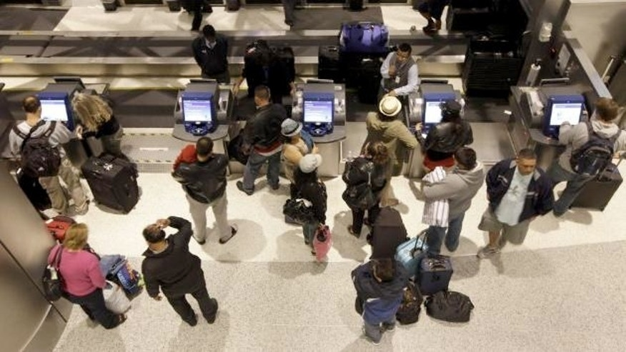 U.S. airlines expect to carry 24.6 million passengers over the 12 days surrounding Thanksgiving, up 1.5 percent from last year.