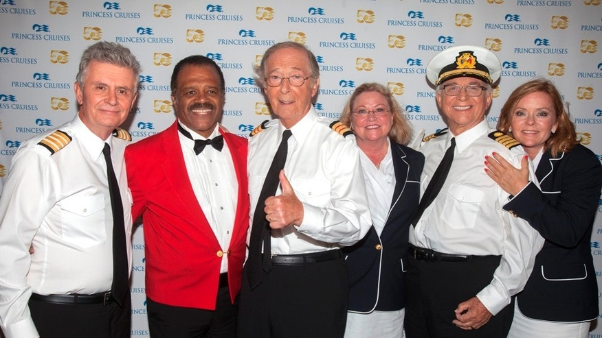 The cast of the 'The Love Boat' together again.