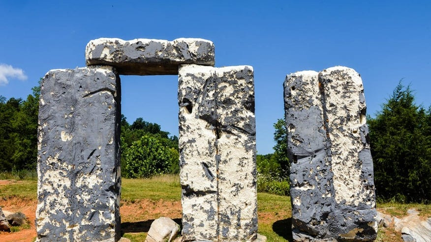 Foamhenge, Virginia