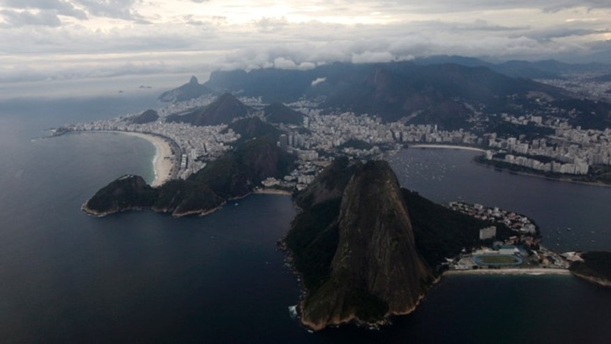 March 22, 2014: An aerial view of Rio de Janeiro in this file photo.