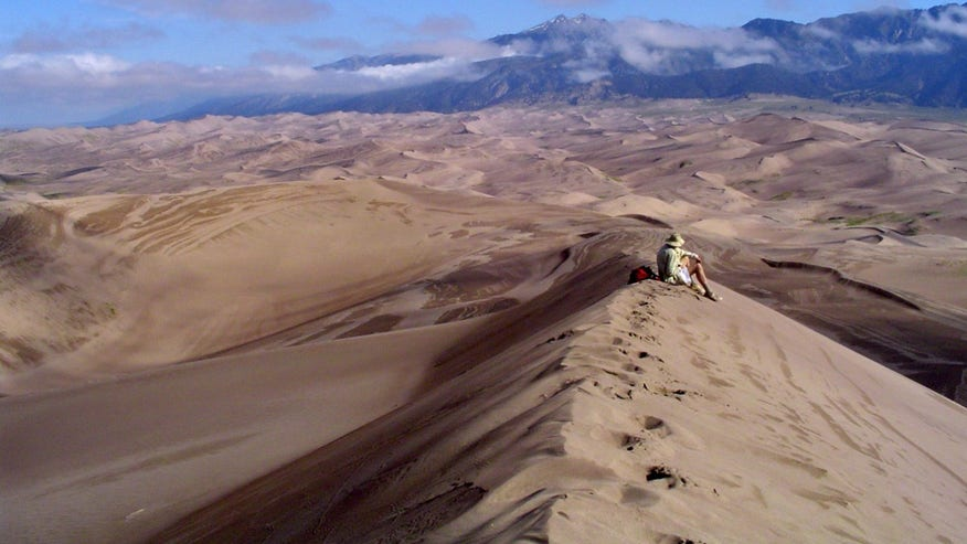 Star Dune: Great Sand Dunes National Park & Preserve, Colorado