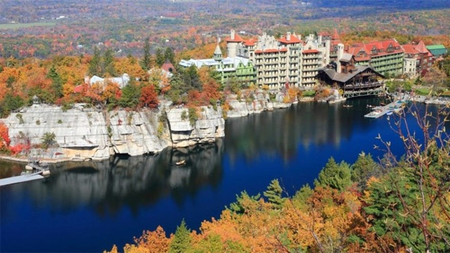 A mountain escape at the historic Mohonk Moutain