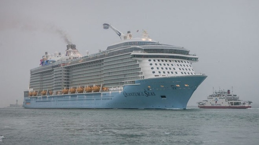 Royal Caribbeans brand-new cruise ship Quantum of the Seas.