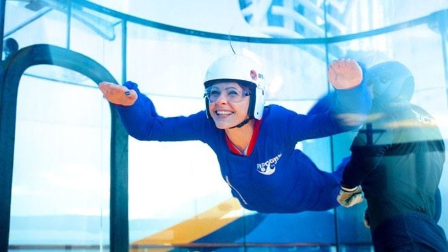 A simulated skydiving experience with RipCord by iFLY.