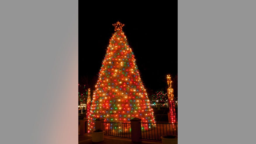 Tumbleweed Tree Lighting Ceremony, Chandler, Arizona
