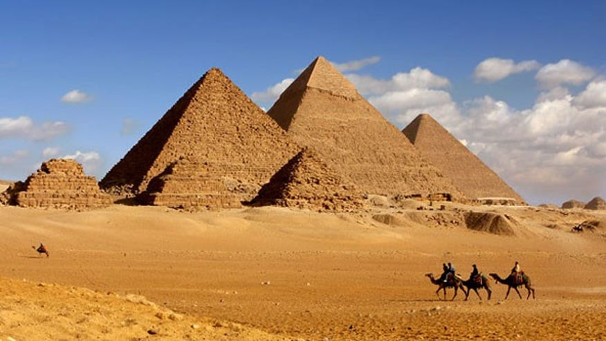 The Pyramids: 'Stayed 15 minutes'