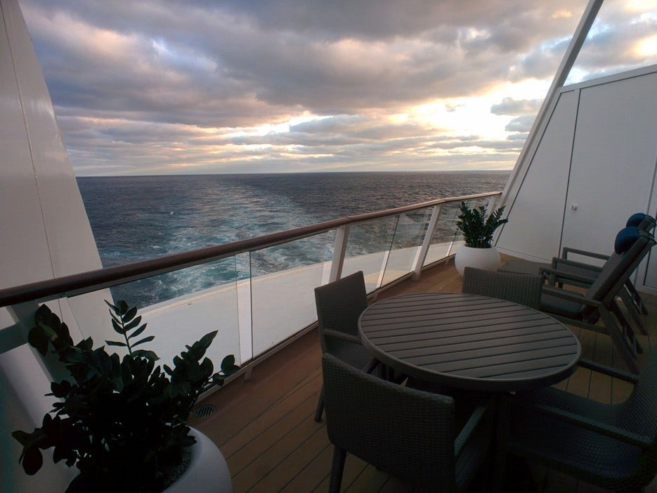 Inside A 1 680 A Night Suite On The New Quantum Of The Seas Cruise Ship Fox News