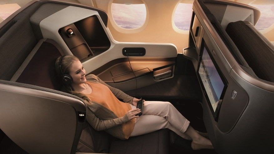 Passengers will be enjoying luxurious business class accommodations for economy fare prices.