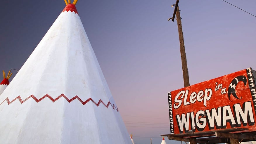 Wigwam Motel — Holbrok, Arizona
