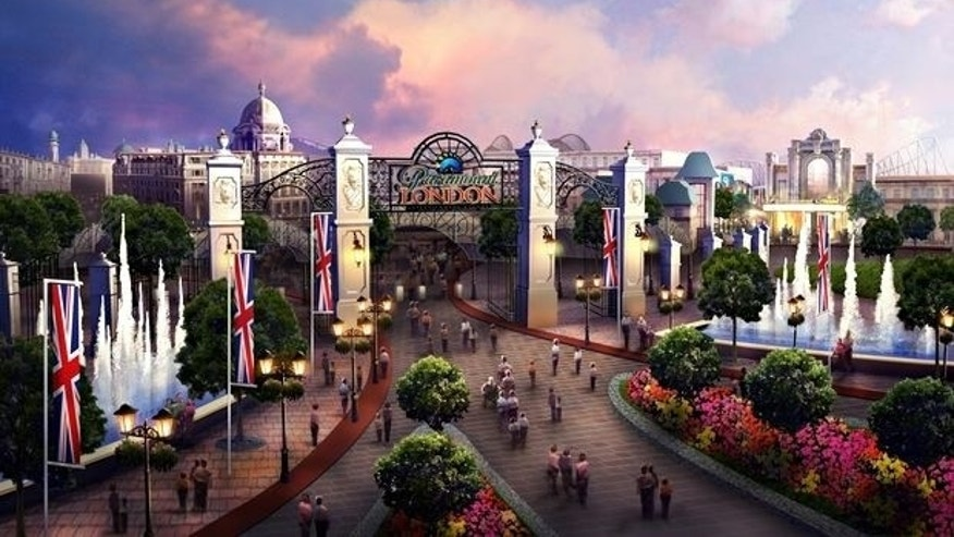 A digital rendering of the London Paramount Entertainment Resort