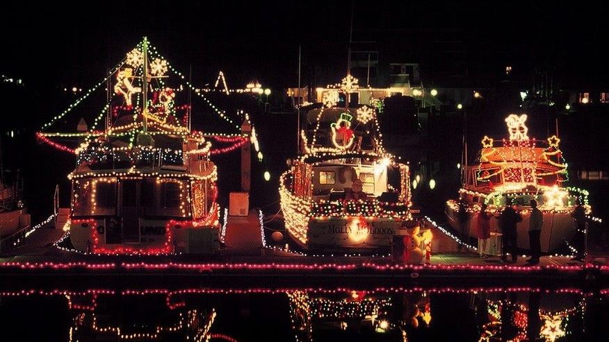 San Diego Bay Parade of Lights, San Diego, Calif.