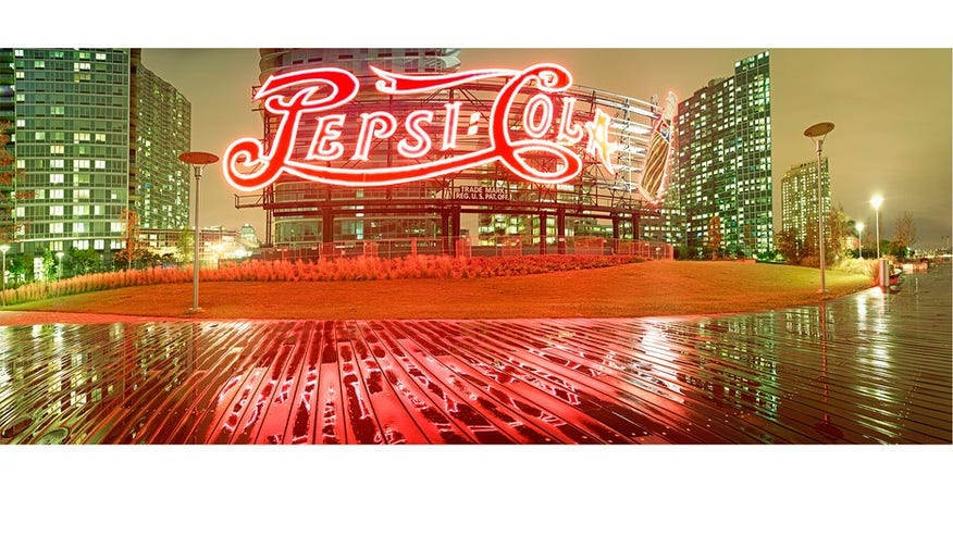 Pepsi-Cola Sign, Long Island City, Queens, 2013